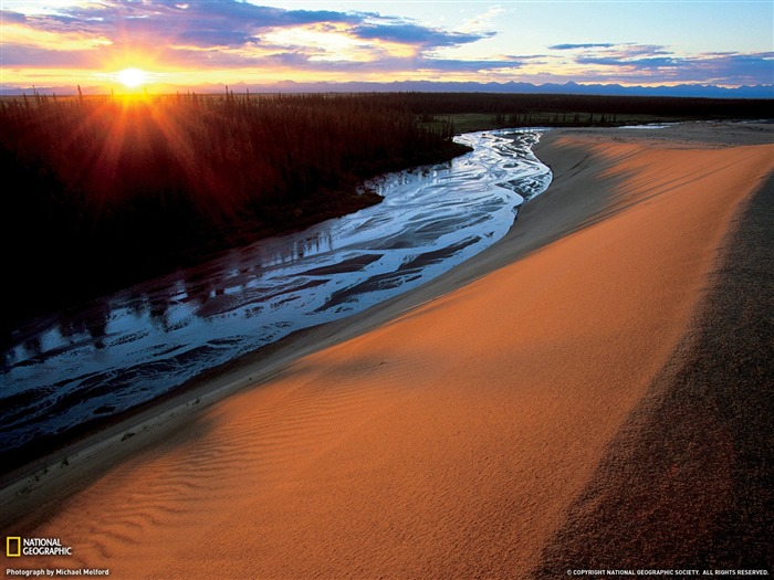 Great Kobuk Sand Dunes Alaska-National Geographic Travel Photos Views:3759