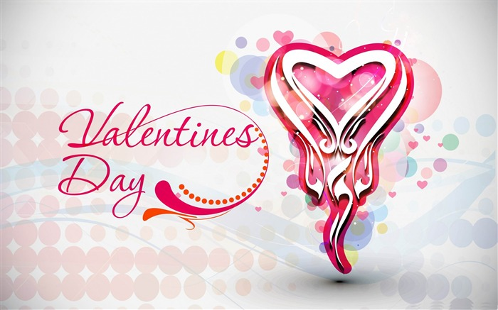 Romantic Valentines Day-Valentines Day theme desktop picture Views:7562