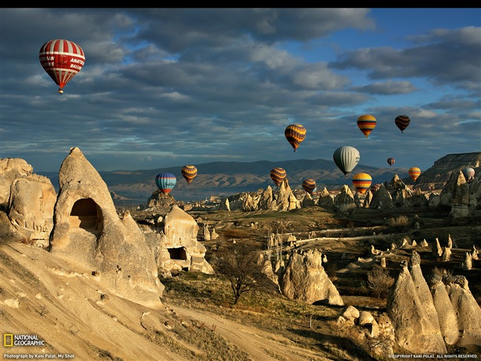 Hot Air Balloons Cappadocia-National Geographic Travel Photos Views:15758