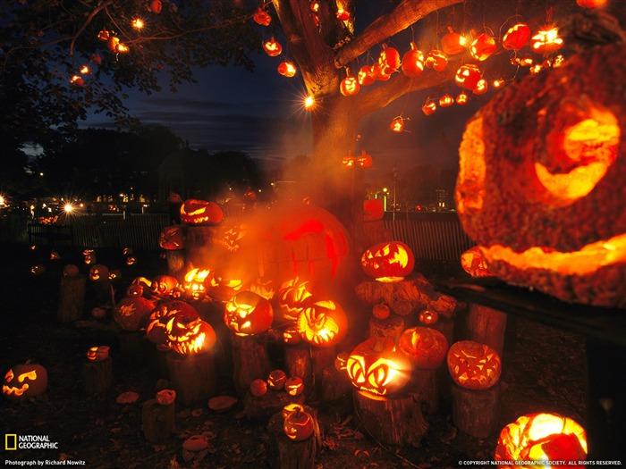 Jack Lanterns Massachusetts-National Geographic Travel Photos Views:3580