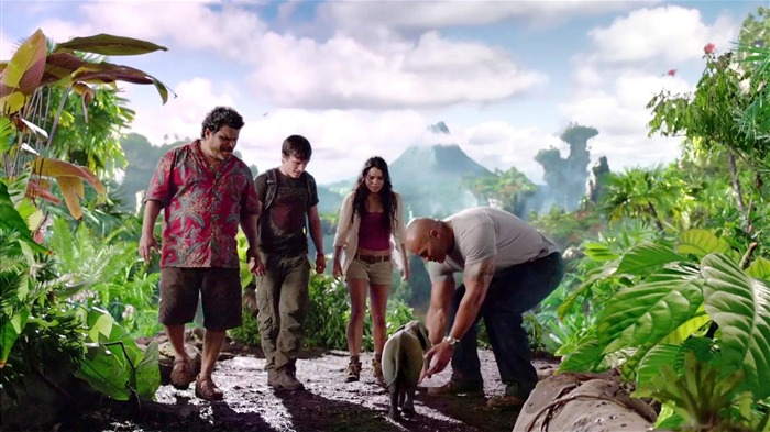 Journey 2-The Mysterious Island HD Movie Wallpaper 05 Views:3741