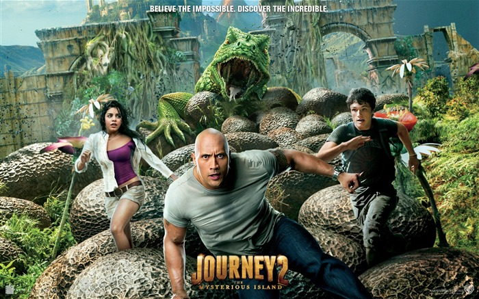 Journey 2-The Mysterious Island HD Movie Wallpaper Views:11858