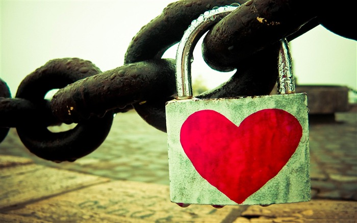Love chain-Valentines Day theme desktop picture Views:6405