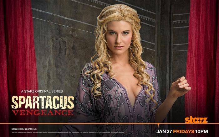 Spartacus-Vengeance HD American TV Desktop Wallpaper Views:17464