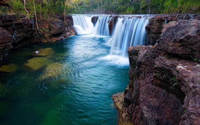 The worlds most beautiful waterfall landscape picture Views:25806