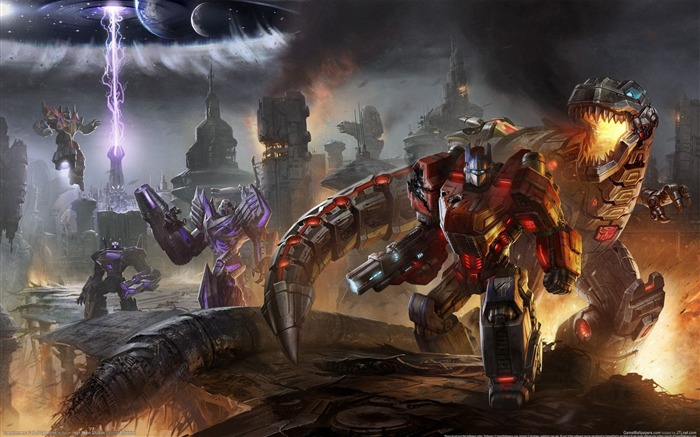 Transformers-Fall of Cybertron HD Game Wallpapers 17 Views:10668