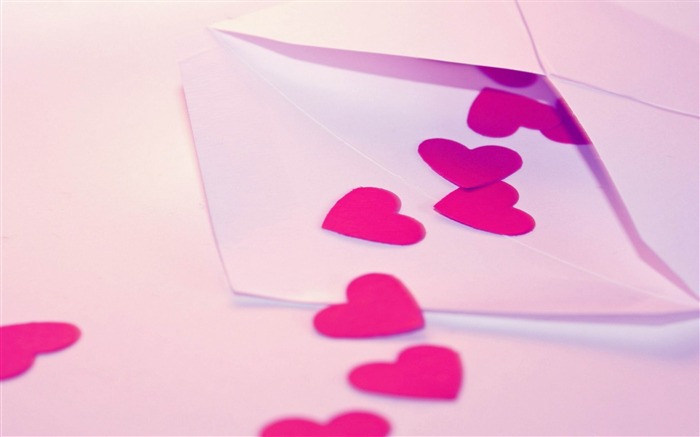 love letter-Valentines Day theme desktop picture Views:9779
