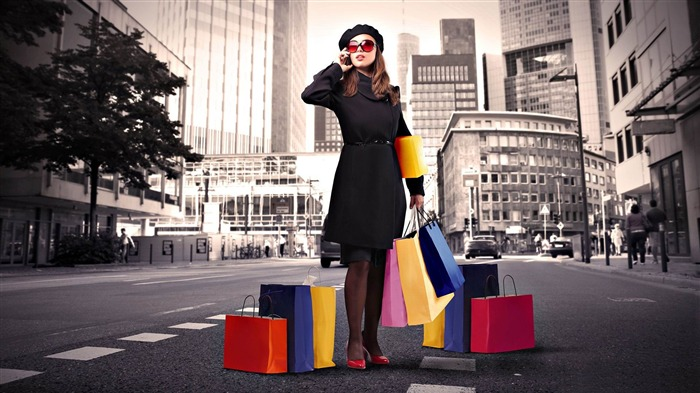 shopping-Photoshop Creative Design picture Views:4844