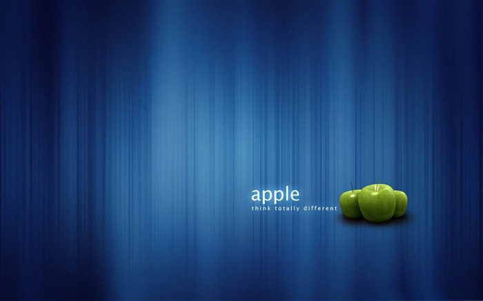 think totally different-Apple MAC theme desktop picture Views:5997