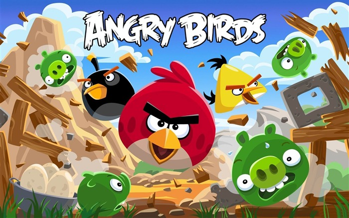 Angry Bird HD Game Wallpaper Views:10095