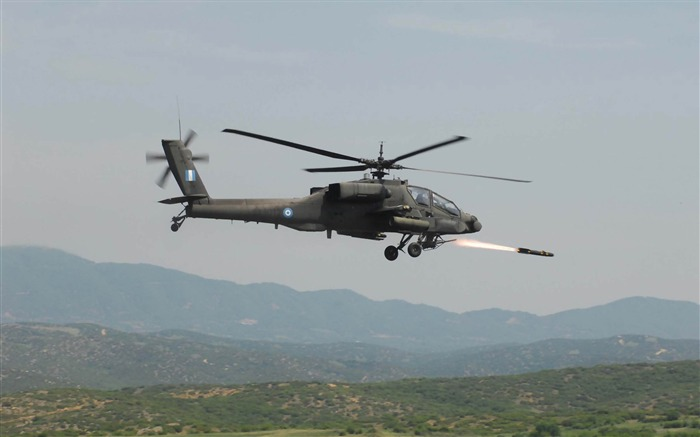 Boeing AH 64 Apache-military aircraft wallpaper Views:9064