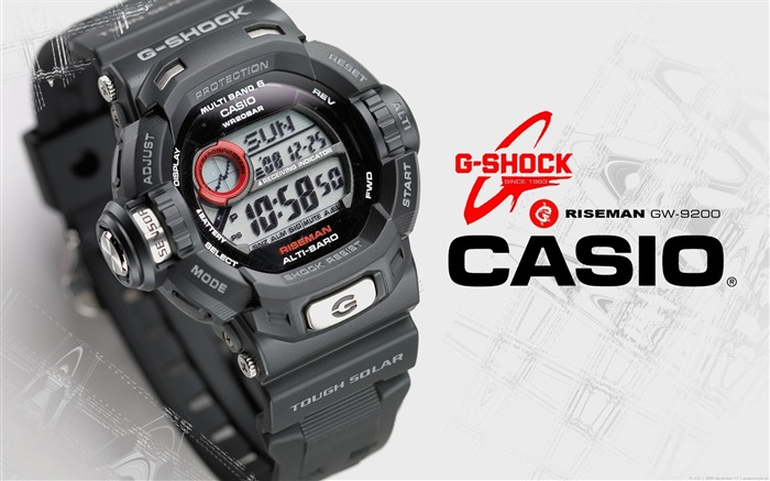 Casio-The world famous brands watches wallpaper Views:18769 Date:3/7/2012 2:08:07 PM