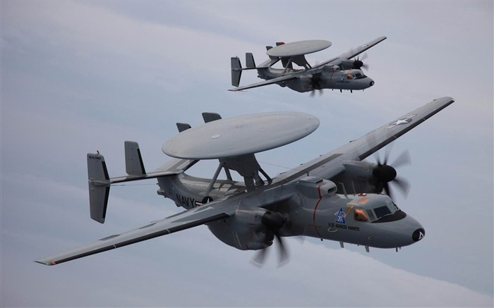Grumman E 2C Hawkeye-military aircraft wallpaper Views:6243