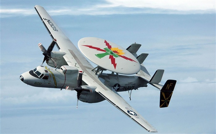 Grumman E 2C Hawkeye -military aircraft wallpaper Views:5154
