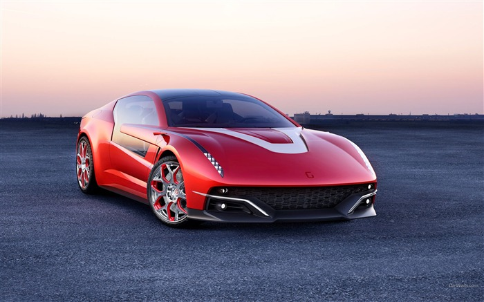 Italdesign Giugiaro Brivido Concept HD Car Wallpaper Views:8949