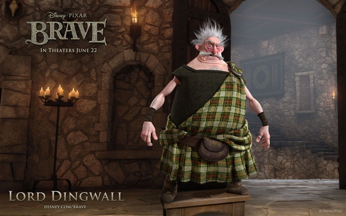 LORD DINGWALL-Brave 2012 HD Movie Wallpaper Views:6121