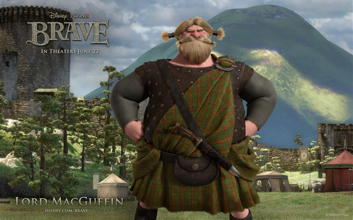 LORD MACGUFFIN-Brave 2012 HD Movie Wallpaper Views:5139