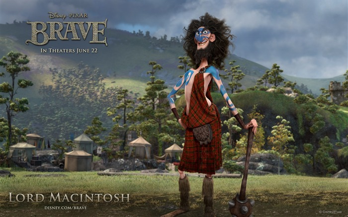 LORD MACINTOSH-Brave 2012 HD Movie Wallpaper Views:7552 Date:3/4/2012 10:33:21 PM