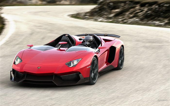 Lamborghini Aventador J Concept Wallpaper Views:15901