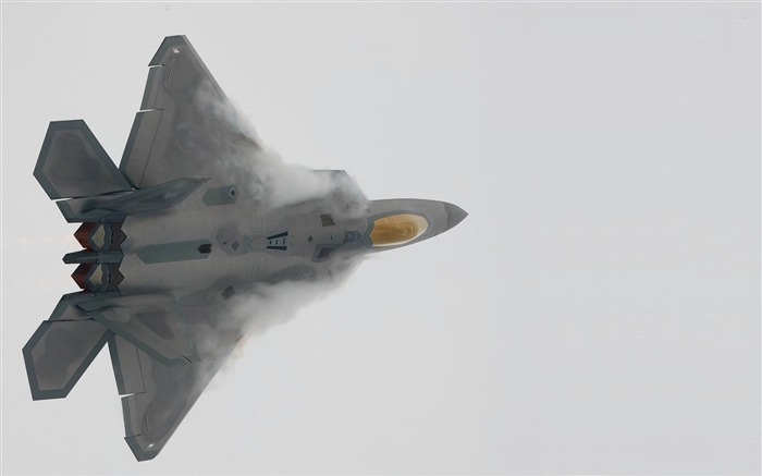 Lockheed Martin F 22 Raptor 02-military aircraft wallpaper Views:7113