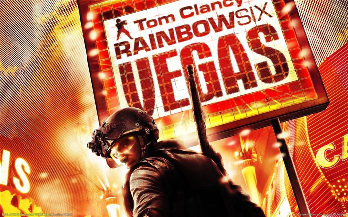 Rainbow Six-Vegas HD Game Wallpaper Views:4847