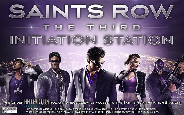 Papel de Parede Saints Row-The Third HD Game Visualizações:10040