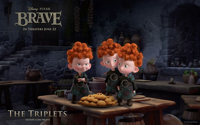 THE TRIPLETS-Brave 2012 HD Movie Wallpaper Views:8100 Date:3/4/2012 10:36:52 PM