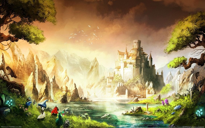 Trine 2 Game HD Wallpaper 01 Views:4111