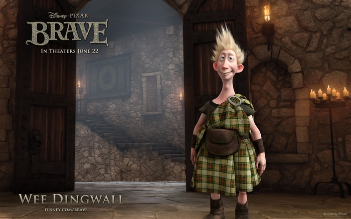 WEE DINGWALL-Brave 2012 HD Movie Wallpaper Views:6290 Date:3/4/2012 10:37:43 PM