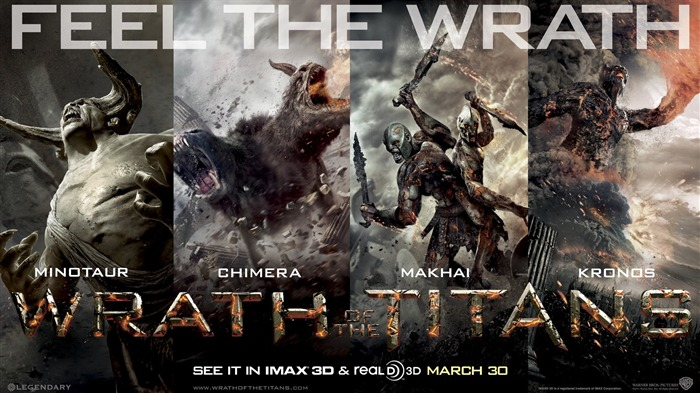 Wrath of the Titans HD Movie Wallpaper 04 Views:4097