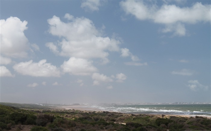 el jadida from a distance-beautiful natural landscape wallpaper Views:4861