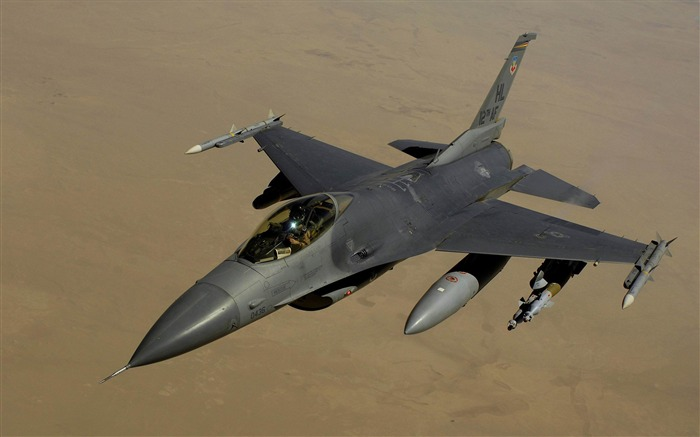 general dynamics f 16 fighting falcon-military aircraft wallpaper Views:4848