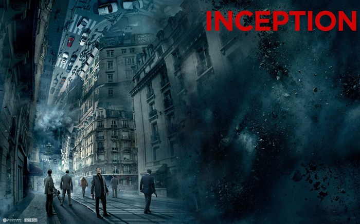 inception folding paris-2011-12 film and television HD wallpaper Views:4177