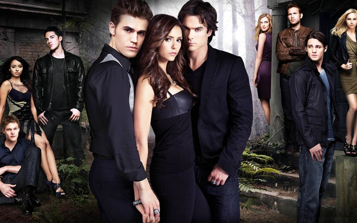 the vampire diaries season-2011-12 film and television HD wallpaper Views:9487