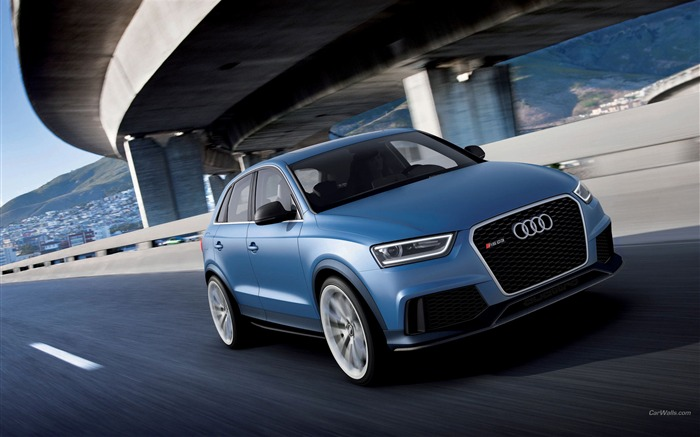Audi RS Q3 Concept Car HD Wallpaper Views:7606 Date:4/22/2012 5:29:22 PM
