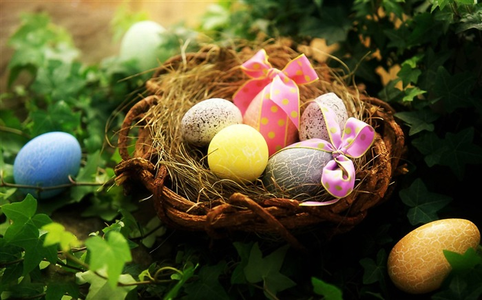 Beautiful Easter Eggs wallpaper Views:9280