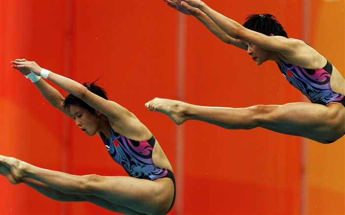 Chinese diving team-Sports wallpaper Views:5922