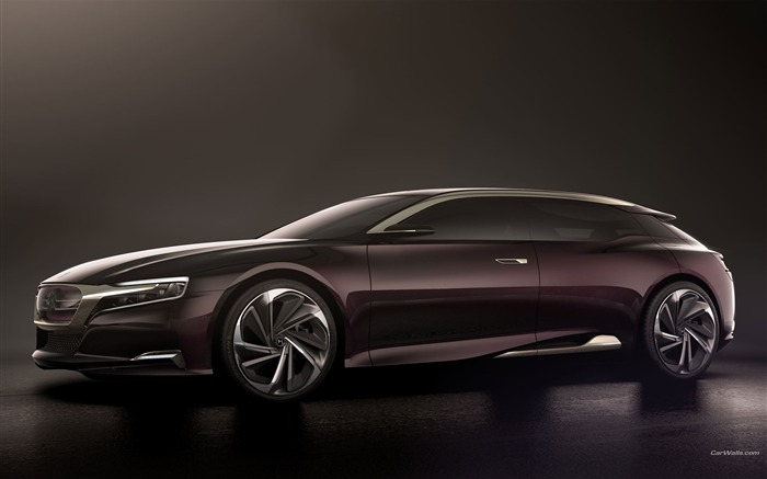 Citroen Numero 9 Concept Car HD Wallpaper Views:9560