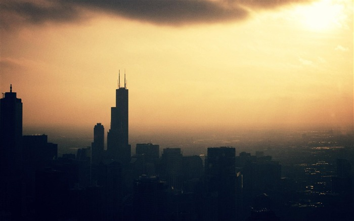 City of Chicago-Urban Landscape Wallpaper Views:6154