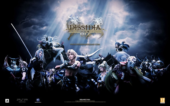 Dissidia 012-Duodecim Final Fantasy Game Wallpaper Views:17369