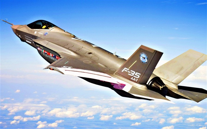 F 35 jet-Military aircraft wallpaper Views:6799
