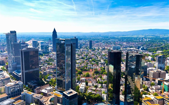 Frankfurt am Main Germany-Urban Landscape Wallpaper Views:5378