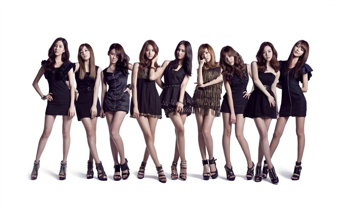 Girls Generation Korean beauty girls wallpaper Views:11940