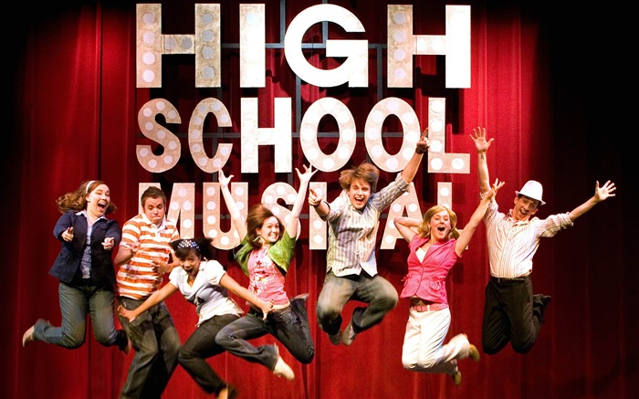 High School Musical Movie Wallpaper Views:16534