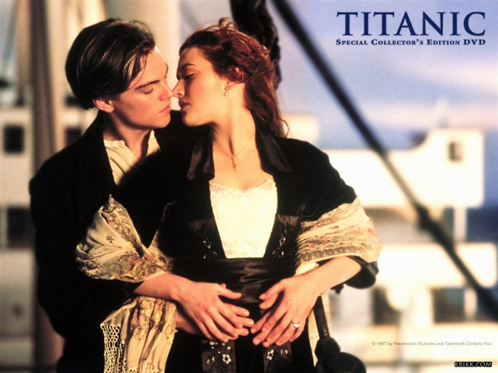 Jack and Rose -Titanic 3D high-definition movie Wallpapers Views:11705