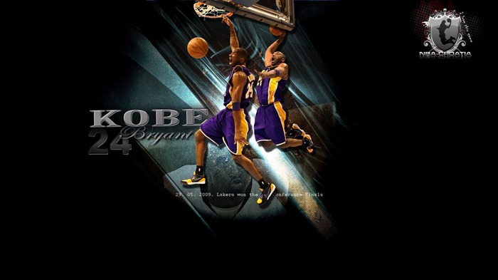 Kobe Bryant-NBA Los Angeles Lakers wallpaper 01 Views:9407