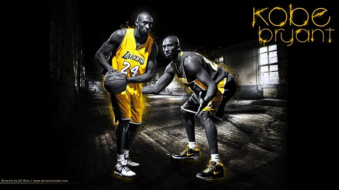 Kobe Bryant-NBA Los Angeles Lakers wallpaper 02 Views:24254