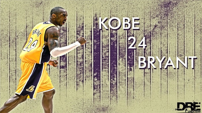 Kobe Bryant-NBA Los Angeles Lakers wallpaper 03 Views:5908