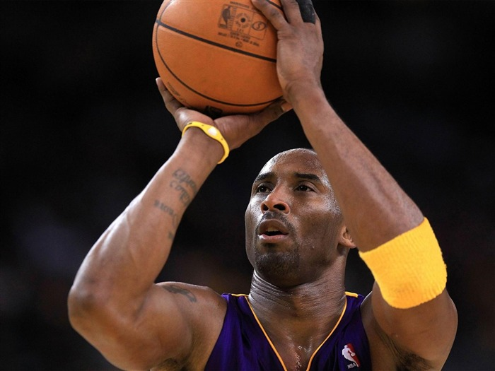 Kobe Bryant-NBA Los Angeles Lakers wallpaper 10 Views:5922