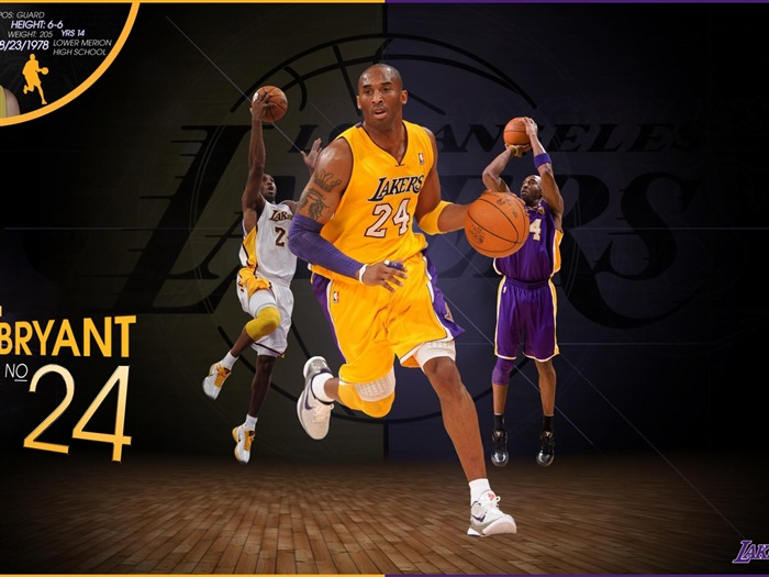 Kobe Bryant-NBA Los Angeles Lakers wallpaper 14 Views:9422